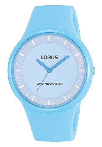 Lorus Damen Analog Quarz Uhr mit Silikon Armband RRX21FX9