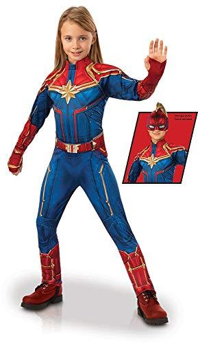 Kostüm Captain Planet - Rubie's - Offizieller Captain Marvel Hero Anzug, Kinder, Deluxe-Kostüm