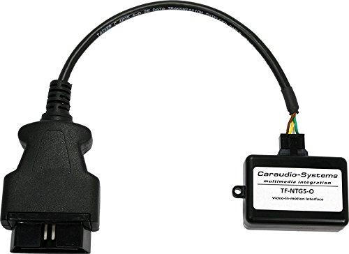 Caraudio-Systems TF-NTG5-O OBD Video Freischaltung passend für Mercedes Benz mit Navigationssystemen Comand Online NTG5-205/222 in C-Klasse (W205) schwarz/silber