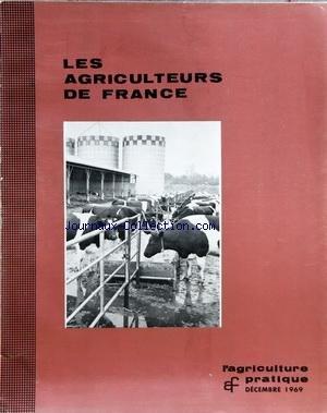 AGRICULTEURS DE FRANCE (LES) [No 11] du 01/12/1969