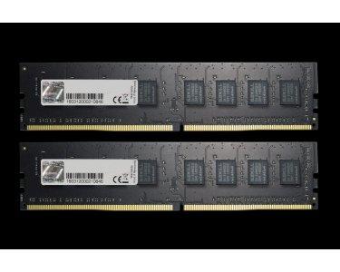 GSkill F4-2400C17D-16GNT DDR4 16GB Arbeitsspeicher schwarz