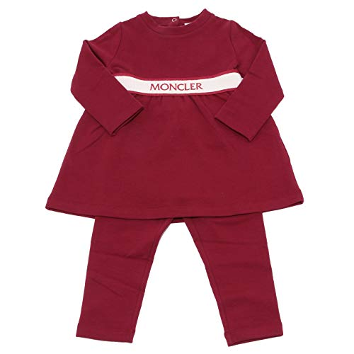 huge selection of 59860 3c703 Piumino giacca moncler per bambino dal colore marrone ...
