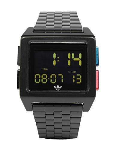 Adidas Originals Archive_m1 Watch One Size All Black/Blue / Red