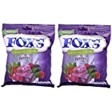 Nestle Fox's Crystal Clear Berries - 90G Each (Pack Of 2)