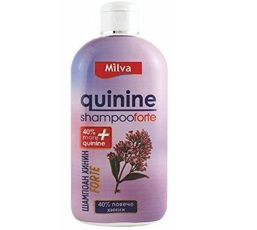 Quinine-Power - Champú para crecimiento del cabello más rápido, reduce la peluquería, estimula el crecimiento - 40% más Quinine 200 ml