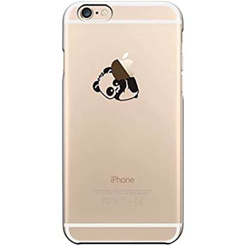iPhone Cover di licaso® per il Apple iPhone 6 & 6S di TPU Silicone Panda 2 Kung Fu ZOO Modello molto sottile protegge il tuo iPhone 6 & 6S con stile Cover e Bumper (iPhone 6 6S, Panda 2)