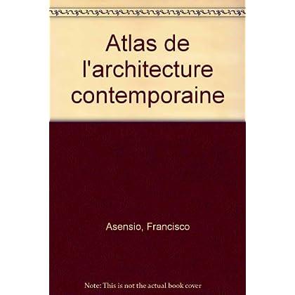 Atlas de l'architecture contemporaine