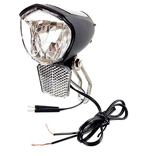 Resul Fahrrad LED Scheinwerfer 75 Lux Vorderlicht mit Helligskeitssensor und Standlicht
