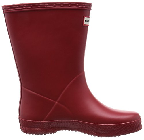 Hunters First Classic Welly W24133, Bottes de pluie mixte enfant Military Red