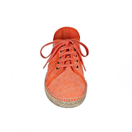 JOE n JOYCE Soria. La combinaison de la sneaker et de l'espadrille - le design dans toute sa splendeur Orange