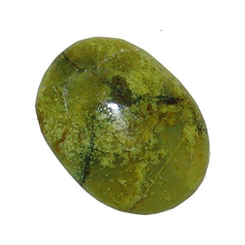 1Stück Opal grün Trommelstein Handschmeichler ca.35-40 mm aus Madagaskar.(4944)