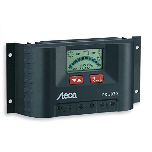 Preisvergleich Produktbild Steca Solarladeregler mit LCD Display und Lastausgang für 12 V Verbraucher bis 30 A, 1 Stück, PR3030