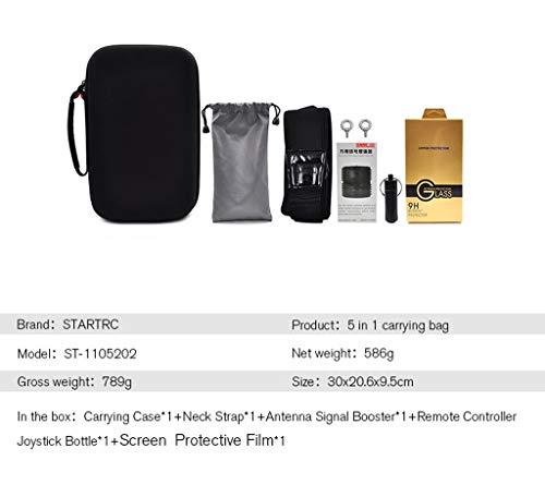 5 in 1 Easy Carry Tragetasche für DJI Mavic 2 Smart Remote Controller Compact Royal 2 mit Bildschirmfernbedienung zum Erhalt eines fünfteiligen Anzugs (A) Pro-serie Auto Audio