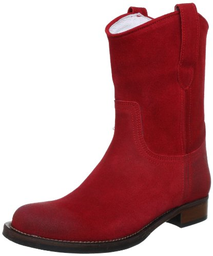 HIP D1887 D1887-132-55BS-0000-0000, Stivaletti donna Rosso (Rot (Red))