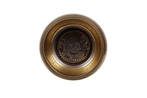Tibétain, méditation, chant, bol, lord, Ganesh, sculpté, (GANESH)