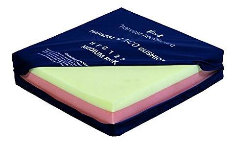 Visco Sandwich Kissen ist ein Zweiwege-Drehen, viskoelastischer Schaumstoff Kissen für Druckentlastung für mittlere Risiko Patienten