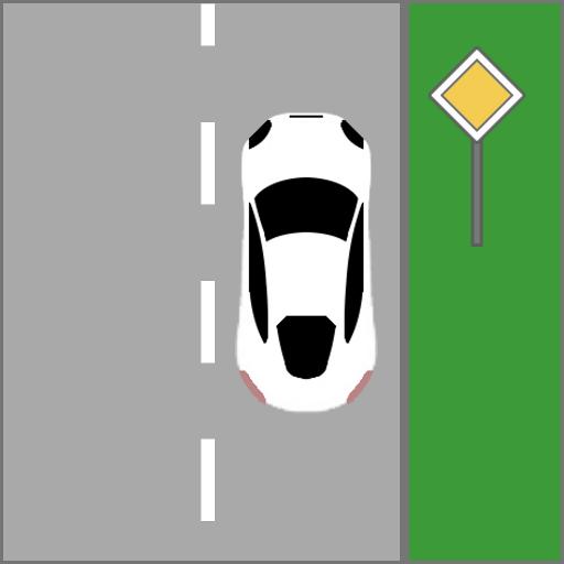 Traffic Run (Google-schild)