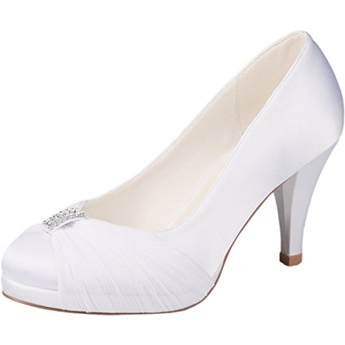westerleigh Hannah mariage Chaussures Ivoire