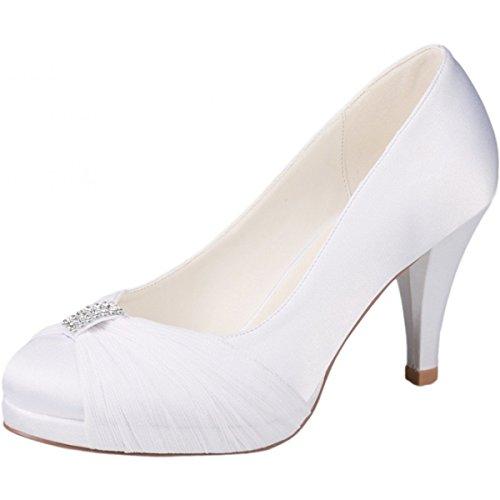 westerleigh Hannah mariage Chaussures Blanc