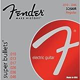 from Fender Fender 3250R Super Bullets Regular Gauges .010-.046 Model 0733250006