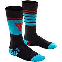 Dainese HG Socks Calcetines de MTB, Hombre, Limo/Hawai-Ocean/High
