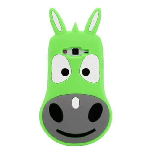 Back Case 3D âne/Animaux Vert coque de protection pour Apple iPhone 6 4,7 Case Étui de protection