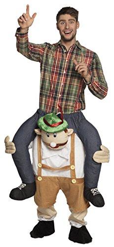 erdbeerclown - Herren Robin Hood Mann huckpack Kostüm Anzug Jäger, L/XL, (Robin Kostüme Pet)