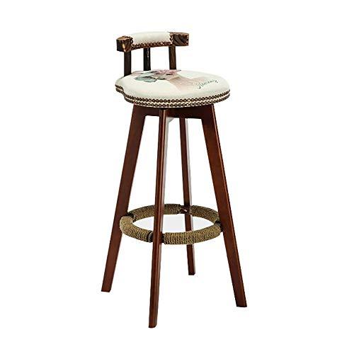 HJYLF, Barhocker, Barstuhl, Café, Hochhocker, Kaffeestuhl, Sessel, moderner minimalistischer Hocker, Arbeitsstuhl, ergonomischer Stuhl