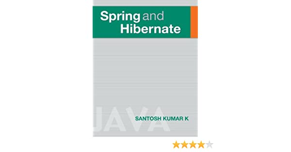 Kumar k pdf spring hibernate santosh and