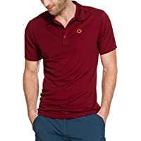Gregster Oddo Polos de Golf, Hombre, Rojo, XL