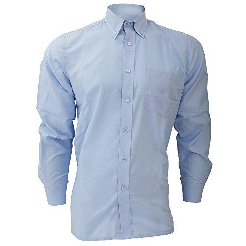 Chemise à manches longues Dickies pour homme Bleu clair