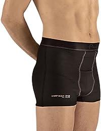 Pavis Médicamente Aprobado–Italiano Hecho Hernia Boxer Pantalones Cortos–suministrado a NHS para contención de Hernia inguinal, Hernia de Pre y Post cirugía (pequeño)