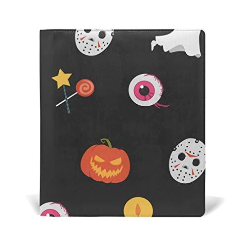 Malplea Halloween-Kürbis und Kobold Schulbucheinband, ideal für Schule und Geschenke