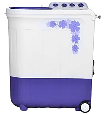 Whirlpool 7 kg Semi-Automatic Top Loading Washing Machine (ACE 7.0 TRB DRY, Floral Purple)