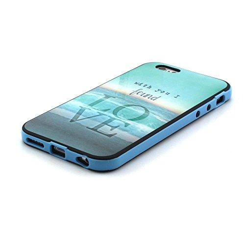 IPhone 6 / 6S (4.7 inch) Coque, MOONCASE Coloré Motif TPU Silicone Gel Étui Housse Protection Shell Cover Case Pour IPhone 6 / 6S (4.7 inch) YT14 YT21