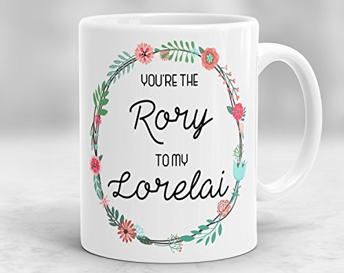 Kaffeebecher 11oz Novelty Coffee Mugs Funny Sayings 11oz - You're the Rory to my Lorelai Mug, Gilmore Girls Mug, Gilmore Girls Themed Mug, Mother Daughter Mug