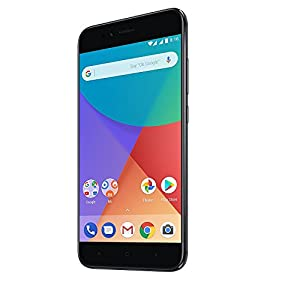 Xiaomi Mi A1 Smartphone 4G 4GB 64GB Doble Sim, Con Google Play [Version Europea] Negro
