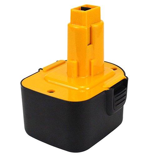 Powayup 12V 3.0Ah Batería para Dewalt de Herramienta Eléctrica Repuesto Bateria DE9074 DE9075 DE9071 DE9501 DC9071 DE9037 DE9072 DW9071 DW9072 DW912 A9252 A9266 A9275 PS130 EZWA49 EZWA60 EZWA61 152250-27 397745-01