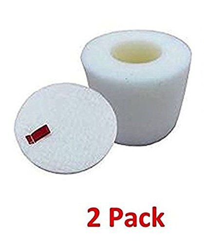 Replacement Shark NV650 Foam & Felt Filter Set Fits Navigator Lift-Away NV650 NV651 NV652 NV750W Vacuums Part # XFF650 & Synonymous Lavender Vacuum Air Freshener (2, XFF650 Foam Filter) by Synonymous