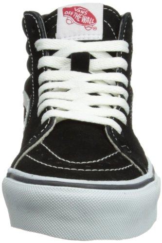 Vans Sk8-Hi, Sneakers Alti Unisex Adulto Nero (Black/White)