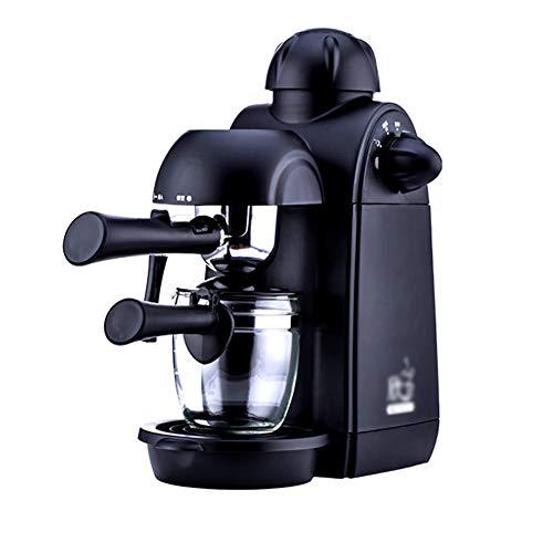 Kaffeemaschine, Espressomaschine, Kaffeevollautomat, Filterkaffeemaschine,Zuhause Klein Kommerziell Italienische Halbautomatische Dampfpumpe Milchschaummahlung - Schwarz - Schwarze Halbautomatische Espressomaschine