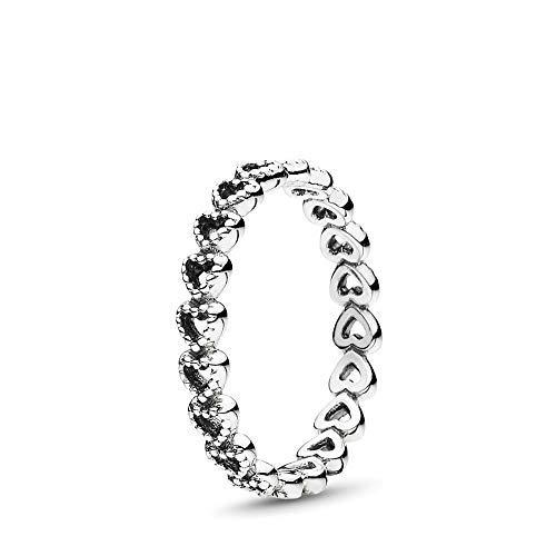 Pandora Damen-Ring 925 Silber Gr. 58 (18.5)-190980-58