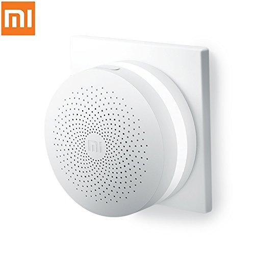 Sensor de casa inteligente puerta de enlace original Xiaomi multifuncional con interruptor sin hilos blanco