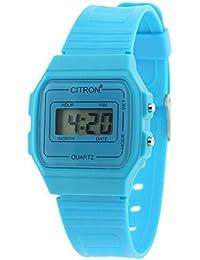 Los niños señoras reloj Digital BlueChilds en caja y de la garantía