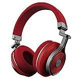 Bluedio T3 (Turbine 3rd) Auriculares Bluetooth de Diadema con microfono Efecto 3D Estereo (Rojo)