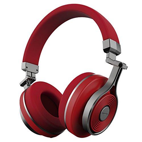 Bluedio T3 (Turbine 3ème) Casque Bluetooth 4.1 stéréo sans Fil (Rouge)