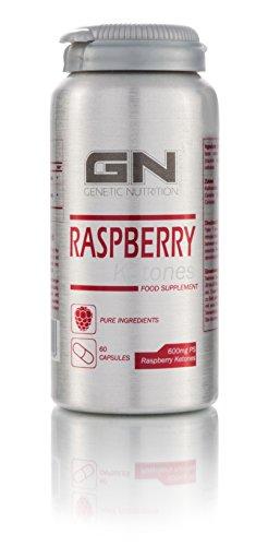 GN Laboratories Raspberry Ketones - Natürlicher Fettbrenner Fatburner Fettabbau Fettverbrennung Bodybuilding Diät 60 Kapseln - VEGY CAPS -