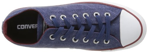 Converse  Ctas Washed Ox,  Unisex-Erwachsene All Star Ox Blau