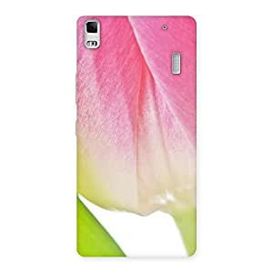 NEO WORLD Premium Pink And White Back Case Cover for Lenovo A7000
