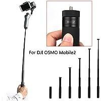 Flycoo Palo Selfie para DJI OSMO Mobile 2 Selfie Monopod 14.8cm - 66cm Extensión ajustable Gimbal Handheld Extension Rod Soporte escalable Stick Extended Pole